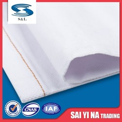 Custom new design high quality white polyester poplin cotton fabric rolls in dyed