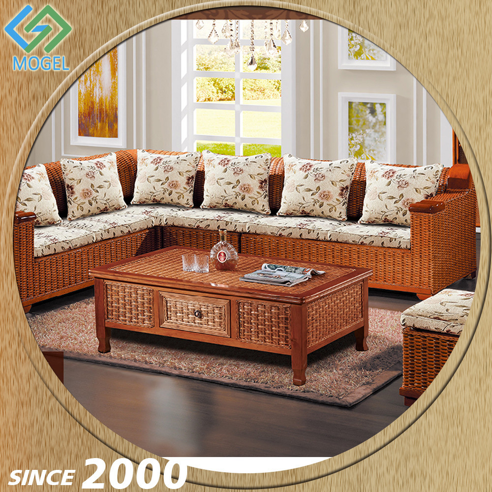 Competitive Price Names Wicker Formal Living Room Furniture