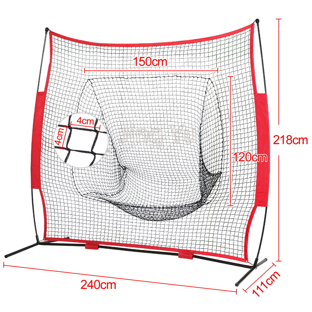 Honkbal softbal pitching praktijk netto '*' baseball rebounder netto