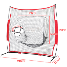 Baseball softball pitching netto '*' berretto da baseball trampolino netto