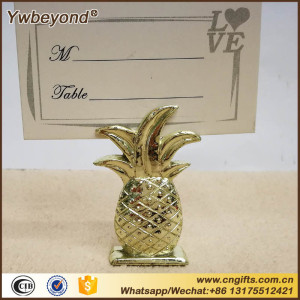 Ywbeyond Wedding Favors Gold Pineapple Place card holder Indian Wedding Table decoration