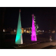 Outdoor LED inflatable tube inflatable tip cone LED event decor