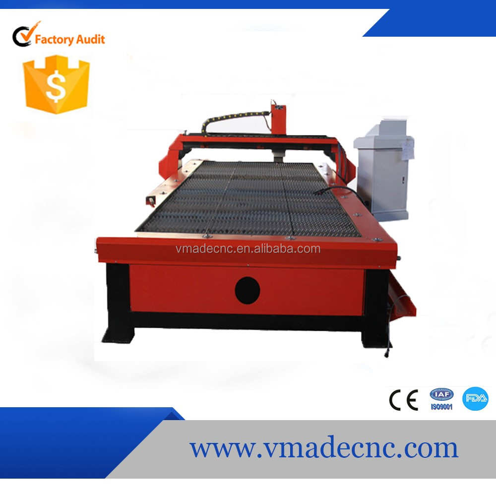 2017 Most popular famous brand 1325 cutting machine plasma by VMADE selling