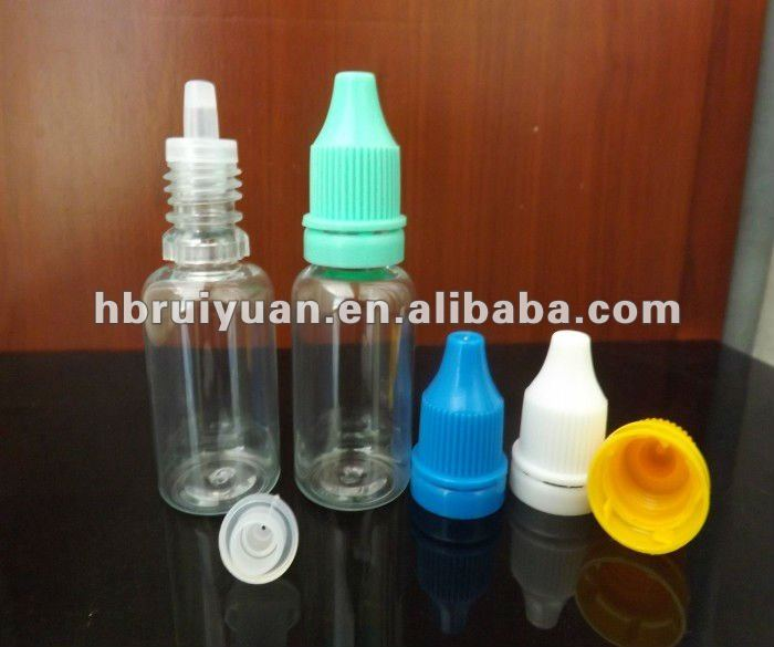 leakage prevent eyedrop bottle PE/PET plastic bottles tamper evident seal cap (ISO9001)