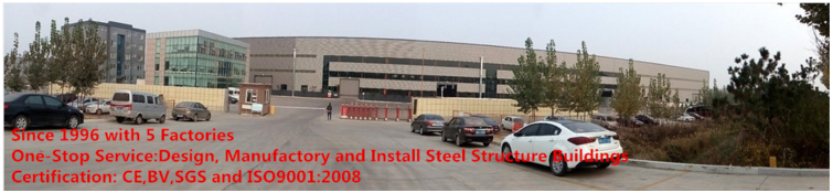 CE certification steel structure building fabrication export to Africa/America