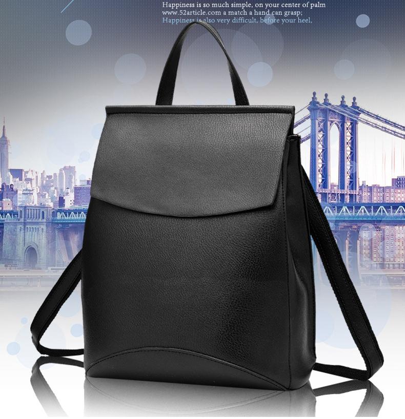 c03f8a95acb7 Wholesale 2017 New Fashion Women Backpacks Shoulder Bag High Quality ...