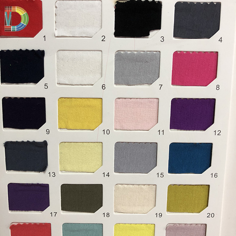 High quality knitted 95% modal cotton 5%spandex jersey fabric for T-shirt Underwear