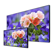 Factory sale ultra narrow bezel 42 inch lcd/led video wall big advertising screen