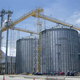 5000 tons Grain small used silos for sale