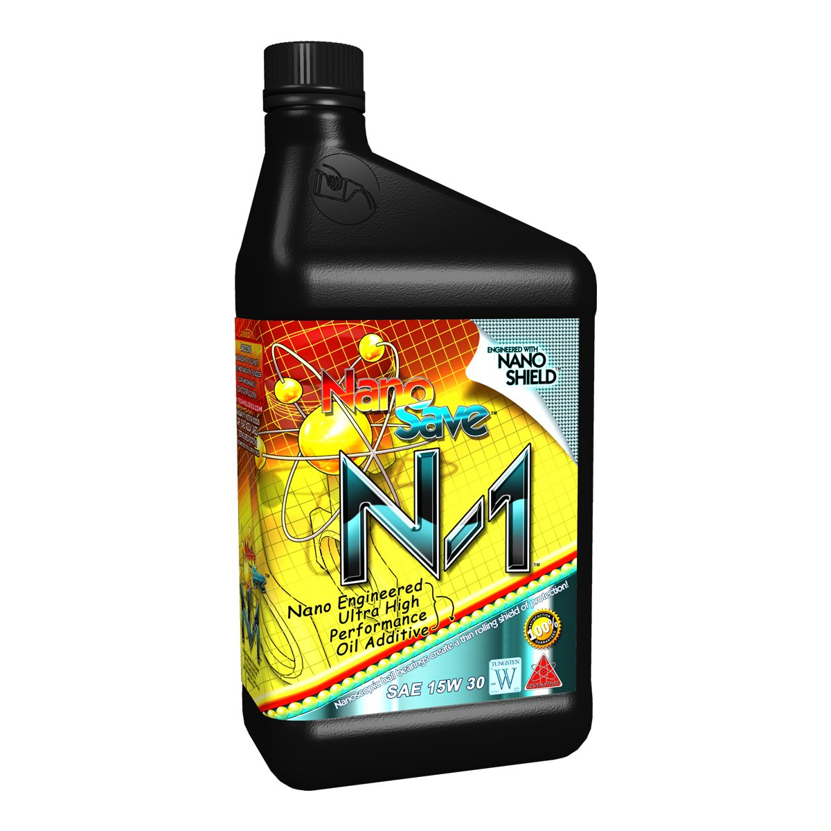 NanoSave N1 Nano-Engineered High Performance Engine Oil Additive - 1 Quart