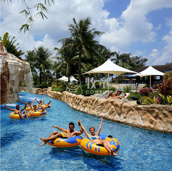 Aqua park Lazy river/drift river for water park hotel resorts