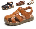High Quality Brand Children Sandalias Girls Boys Genuine Leather Kids Shoes Boys Beach Chaussure Enfant Fille