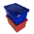 Huge selection plastic storage turnover sawtooth lid crates