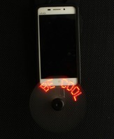 USB/Mobile Phone LED Message Fan mini Usb Fan with Customized Led Message