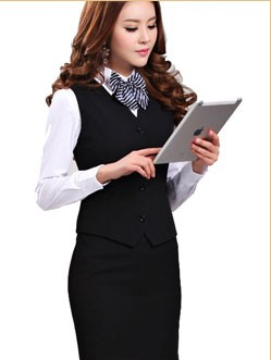 Free Sample Best Office Staff Uniform Designs For Women ...