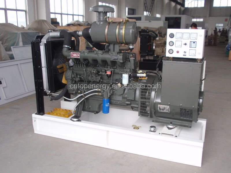 75kw/100kva Diesel Generator Set with Good Quality Chinese Weichai Engine R6105ZD