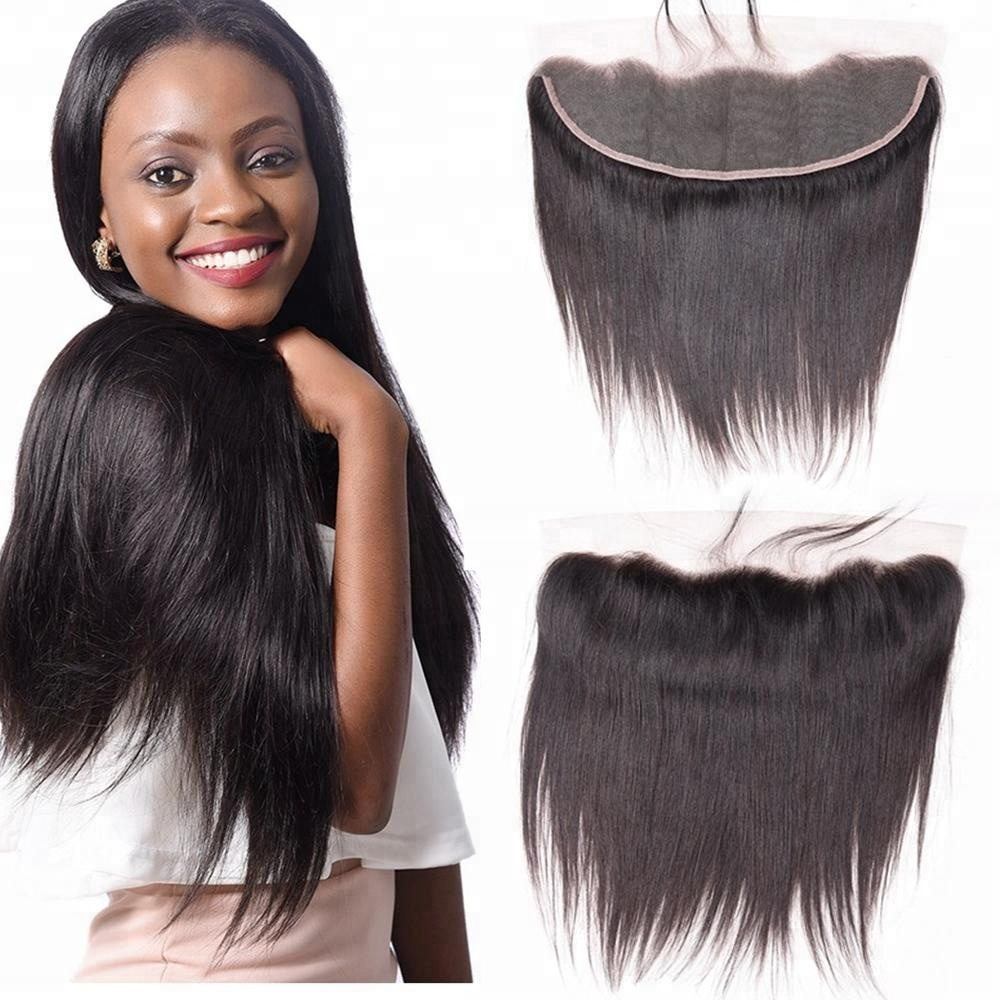 13x4 Ear to Ear Human Hair Lace Frontal Piece Lace Closure with Bundles, Wholesale Lace Frontals with Baby Hair