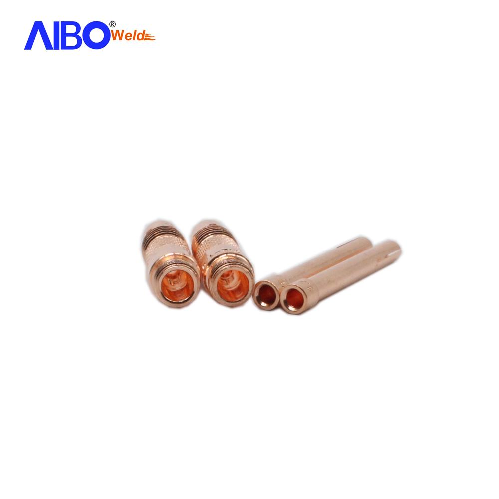 10 MIG M6 0.8mm*25mm Welding Torche Contact Gaz Tips Durable Practical Tool BA