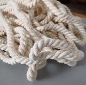 7mm organic cotton rope cotton twisted rope