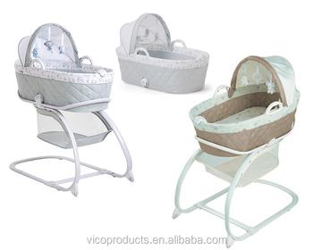 Mehrere funktion babybett mit mobilen und abnehmbare baby nest
