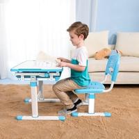 School Supplies Children Assemble Study Table And Chair Furniture,Children Plastic Desk For Kids