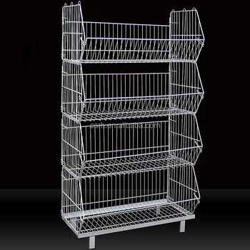 Fantastic Stackable Wire Basket Rack With Top Layer Rh Br04 For Sale Buy Wire Rack Basket Rack Wire Basket Rack Product On Alibaba Com Download Free Architecture Designs Embacsunscenecom
