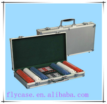 2017 new custom made different colour poker chip case hard aluminum set