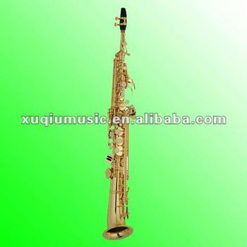 china professional curved bell soprano sax for sale buy sax china sax saxophone for sale. Black Bedroom Furniture Sets. Home Design Ideas