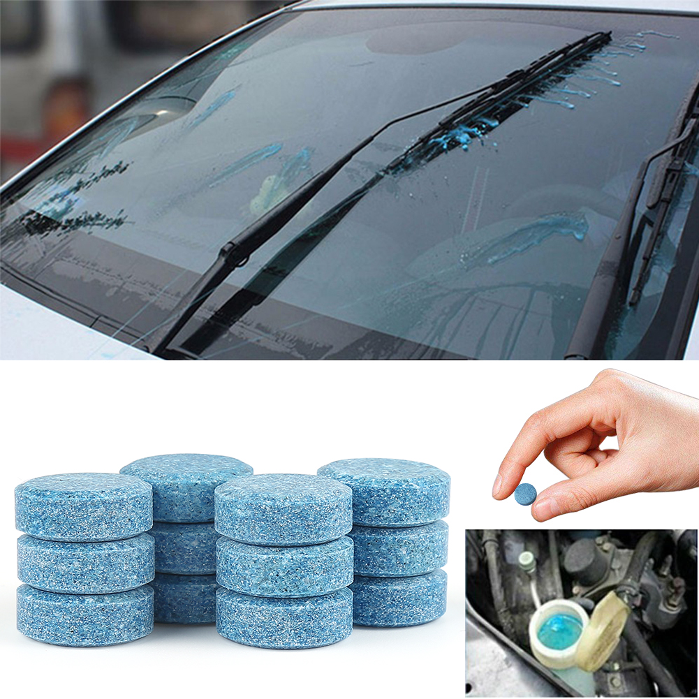 Tinderala Water Multifunctional Effervescent Spray Glass Cleaner Car Windshield Window Floor Kitchenware Cleaning Tablet