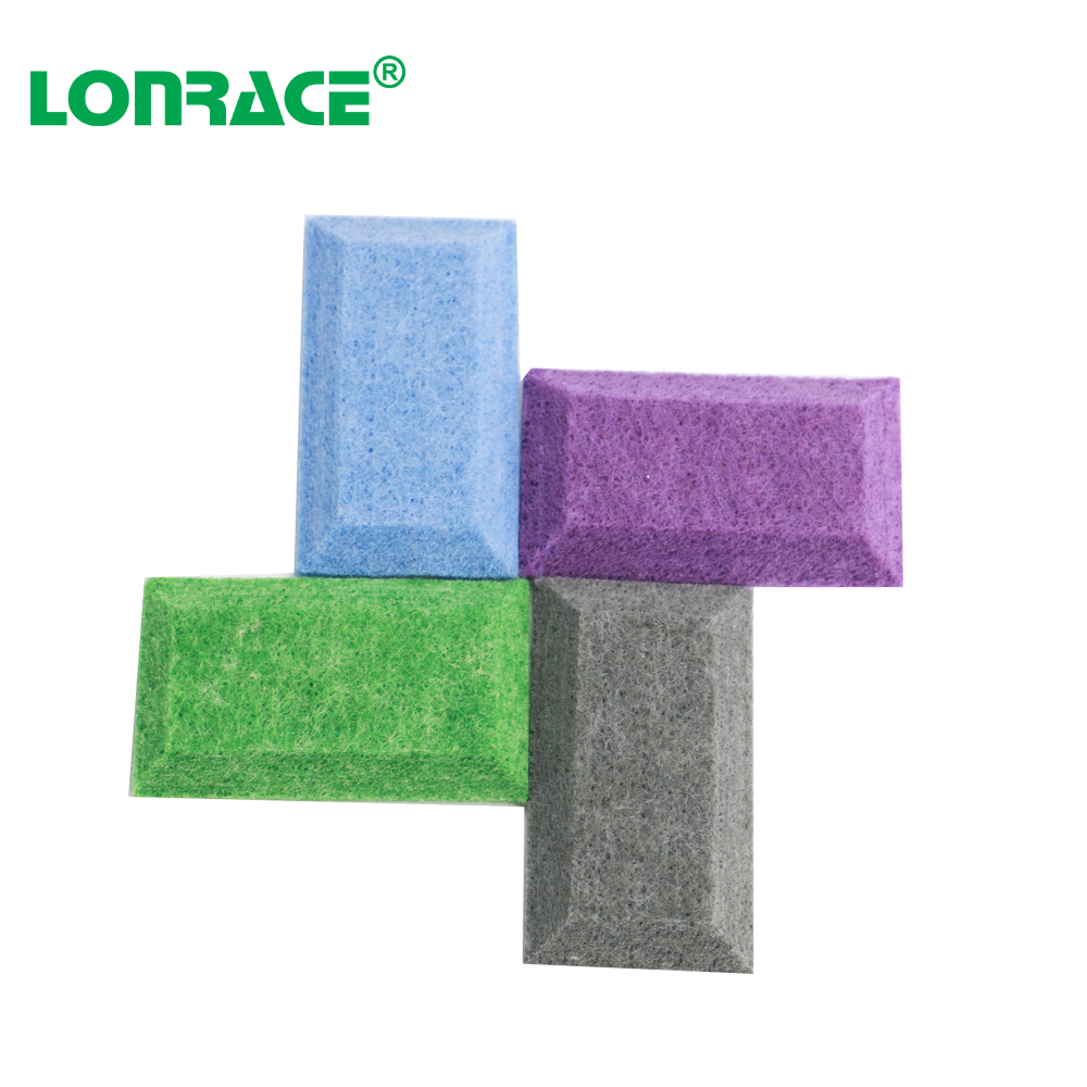 Professional soundproofing polyester fiber acoustic panel PET acoustic panel