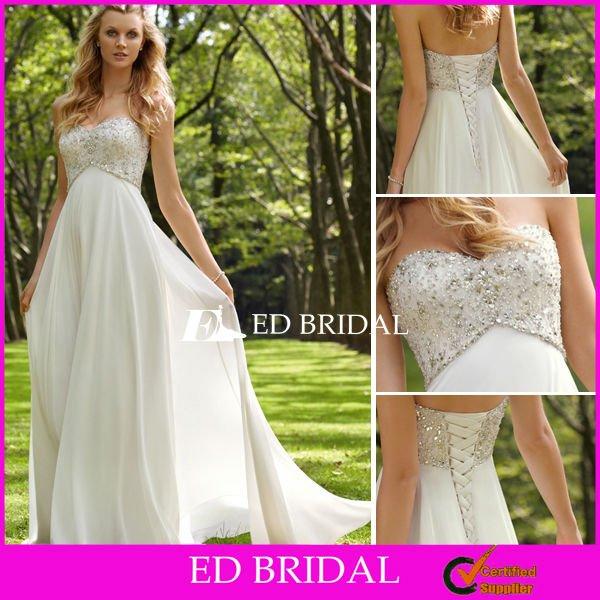 Vestidos de novia para aire libre – Vestidos de noche populares foto ...