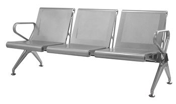 Modern Style Aluminum Airport ChairStation Waiting ChairBank