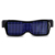 OEM Colorful USB Rechargeable DIY APP Programmable LED Glasses For Bar Or Pub APP Controlled Programmable LED Scrolling Messasge