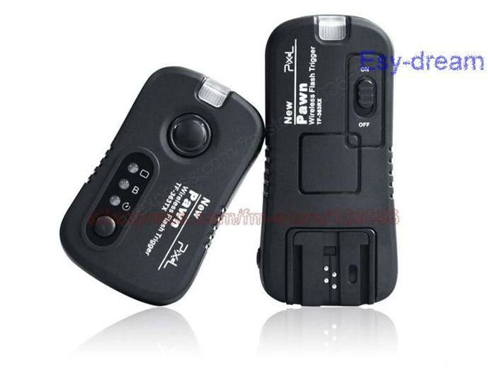 New Pawn TF-363 2.4GHz Wireless Remote Shutter & Flash Trigger for Nikon PF151