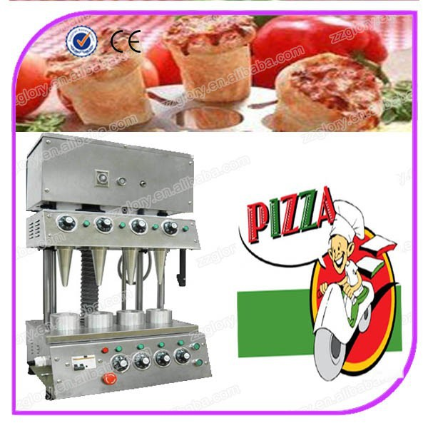 stainless steel pizza cone maker machine/pizza cone baking machine
