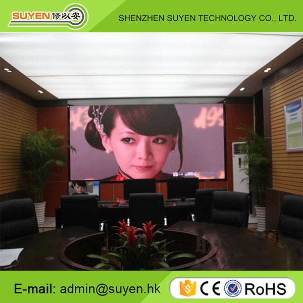 Alibaba electronic project P3 P4 P5 P6 indoor fixed led display wall