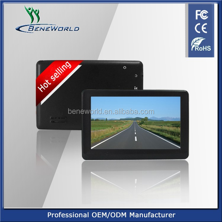4.3 inch smallest gps chipset Mstar MSB2531A, car gps rohs fc ce certificate