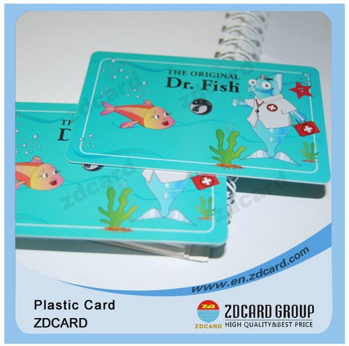Strict Qc Clear Plastic business Card custom ID card/standard plastic card high quality