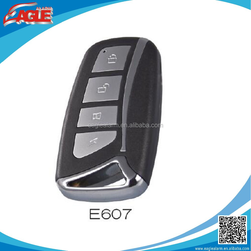 E607 high quality car alarm remote transmitter EV1527, PT2240...