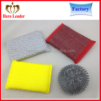2016 Magic Stainless Steel Wool Scrubber Dish Cloth,Kitchen ...