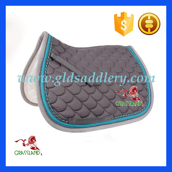 Hot sale Cotton quilted equestrian saddle pads