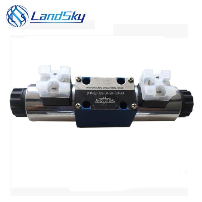LandSky Compression molding machine 4WRA10E60-2X/G24N9K4/V husco sun hydraulic Proportional valve repair 4WRA