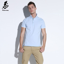 Factory price! light blue dye sublimation polo shirt for men
