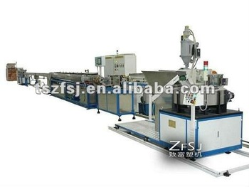 inline flat dripper type drip irrigation tape production line