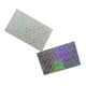 New custom 3d hologram sticker jumbo label material