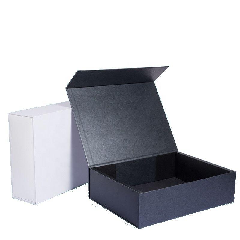 卸売かつら毛折りたたみギフトマルチ色キューティクル同盟毛紙包装箱カスタム印刷