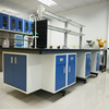 Customized design epoxy resin top lab bench with sink