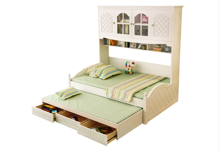 Child Bedroom Wooden Kids Furniture Combined Modern Storage Bed Product On Alibaba