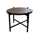 New Promotion Metal Legs industrial home goods coffee table