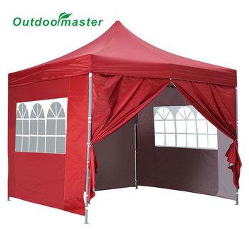 8 x 8u0027 Pyramid Easy Pop Up Party Wedding Tent Canopy Gazebo Red  sc 1 st  Alibaba & 8 X 8u0027 Pyramid Easy Pop Up Party Wedding Tent Canopy Gazebo Red ...